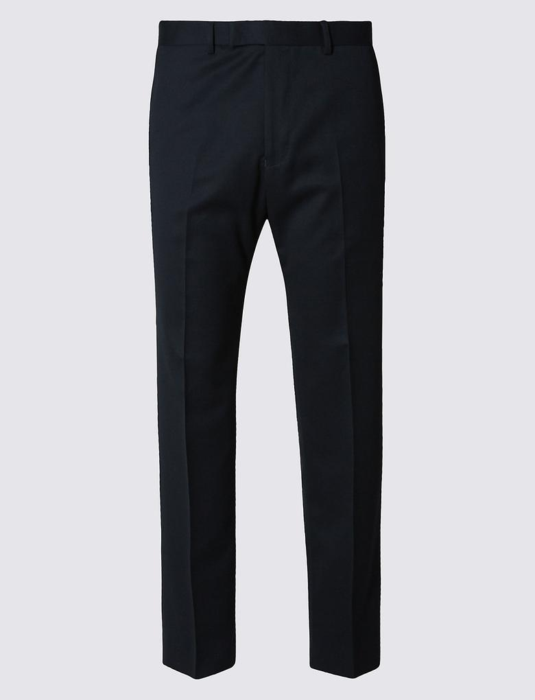 Lacivert Regular Fit Pantolon