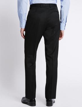 Siyah Mavi Slim Pantolon