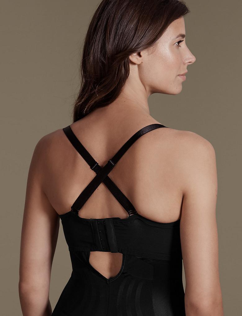 Kadın Siyah Yüksek Sıkılıkta Magicwear™ Body Korse
