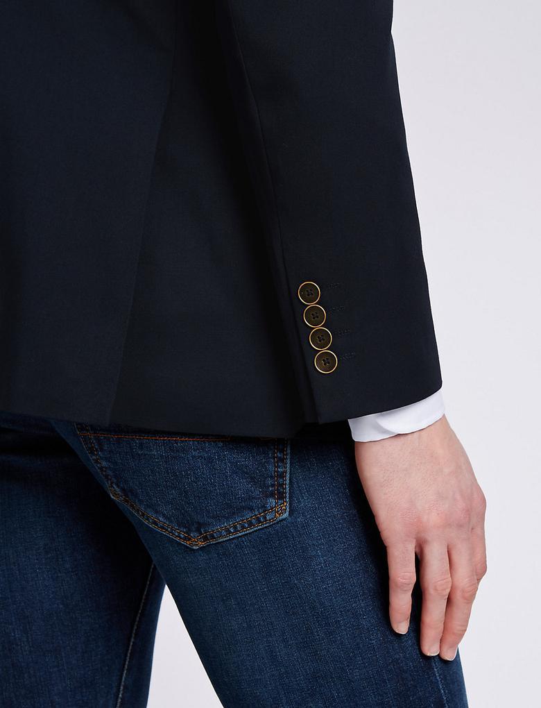 2 Düğmeli Blazer Ceket