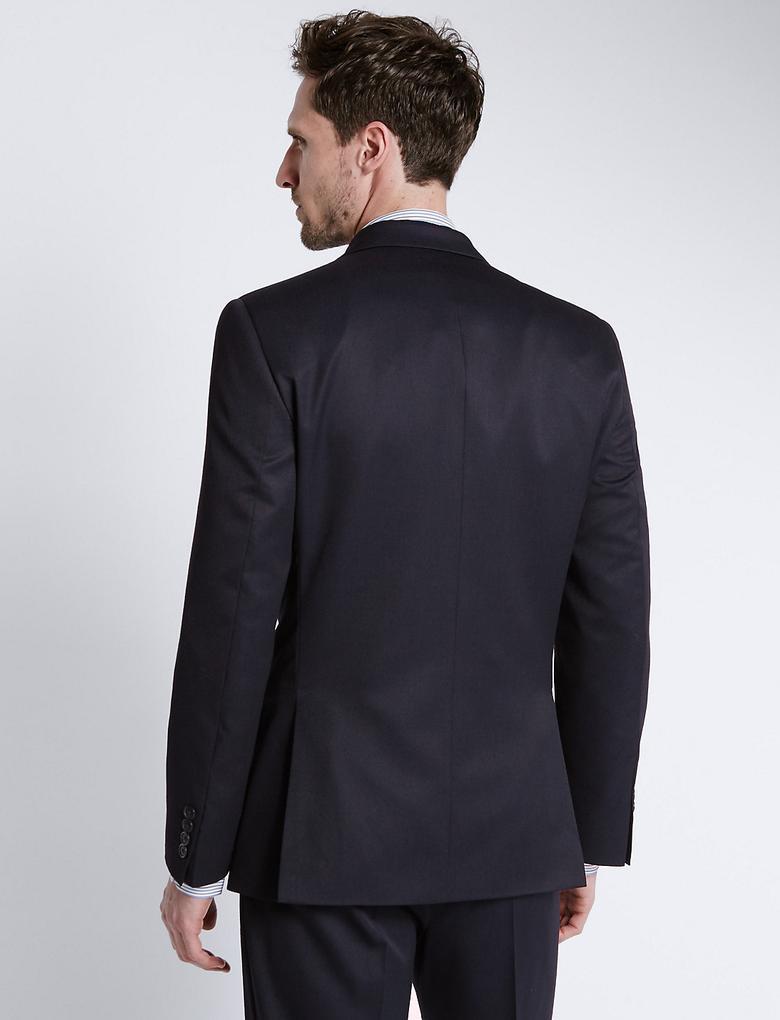 Lacivert Regular Fit Ceket