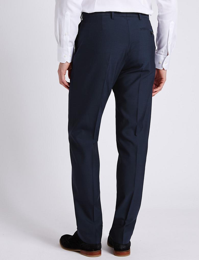 Mor Çivit Tailored Pantolon