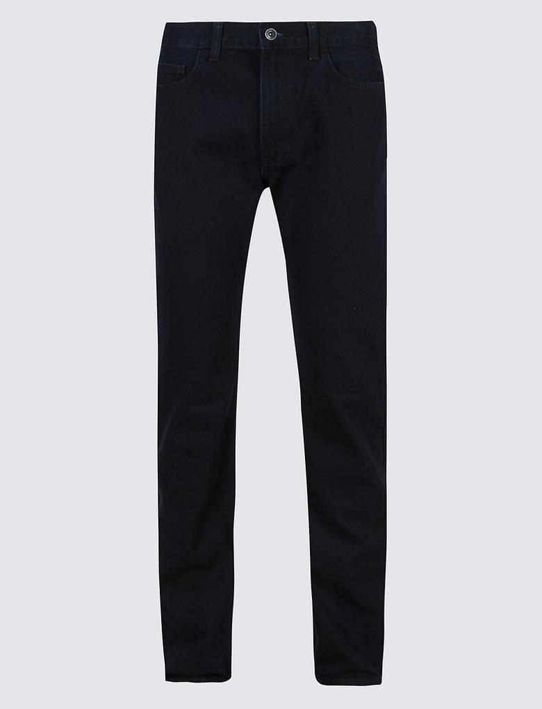 Straight Fit Denim Pantolon