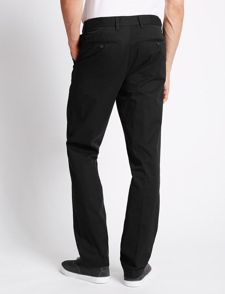 Pure Cotton Regular Fit Chino Pantolon