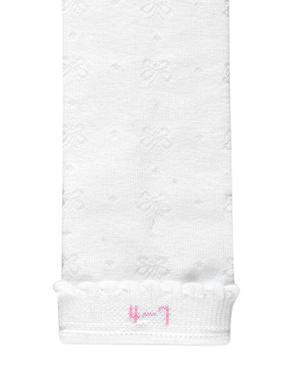 Beyaz 5'li Pamuklu Freshfeet™ Diz Altı Çorap (2 - 11 Yaş)