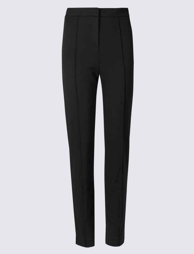 Ön Dikişli Slim Pantolon