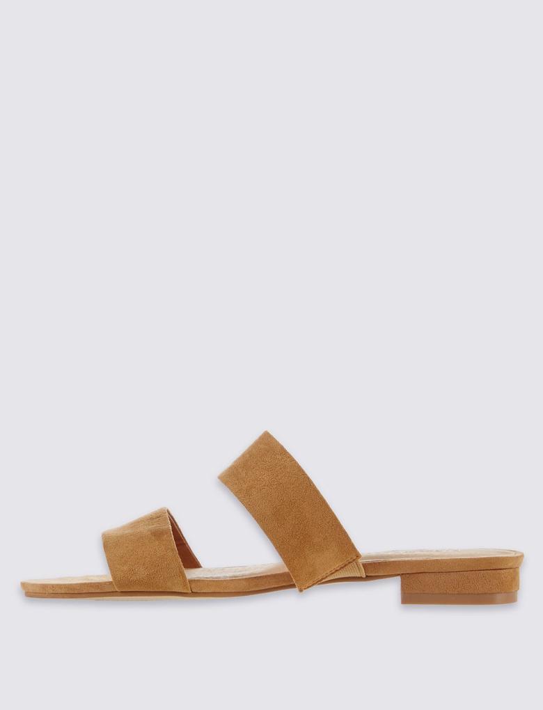 Çift Bantlı Açık Ayakkabı