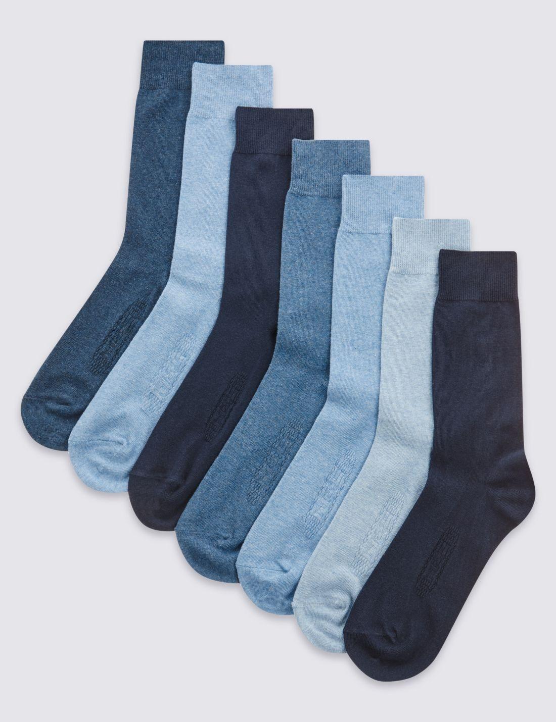 7'li Pamuklu Çorap Seti (Cool & Freshfeet™ Teknolojisi ile)