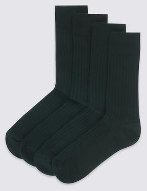 4'lü Kuzu Yünlü Çorap