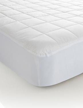 Beyaz Pamuklu Yatak Koruyucu