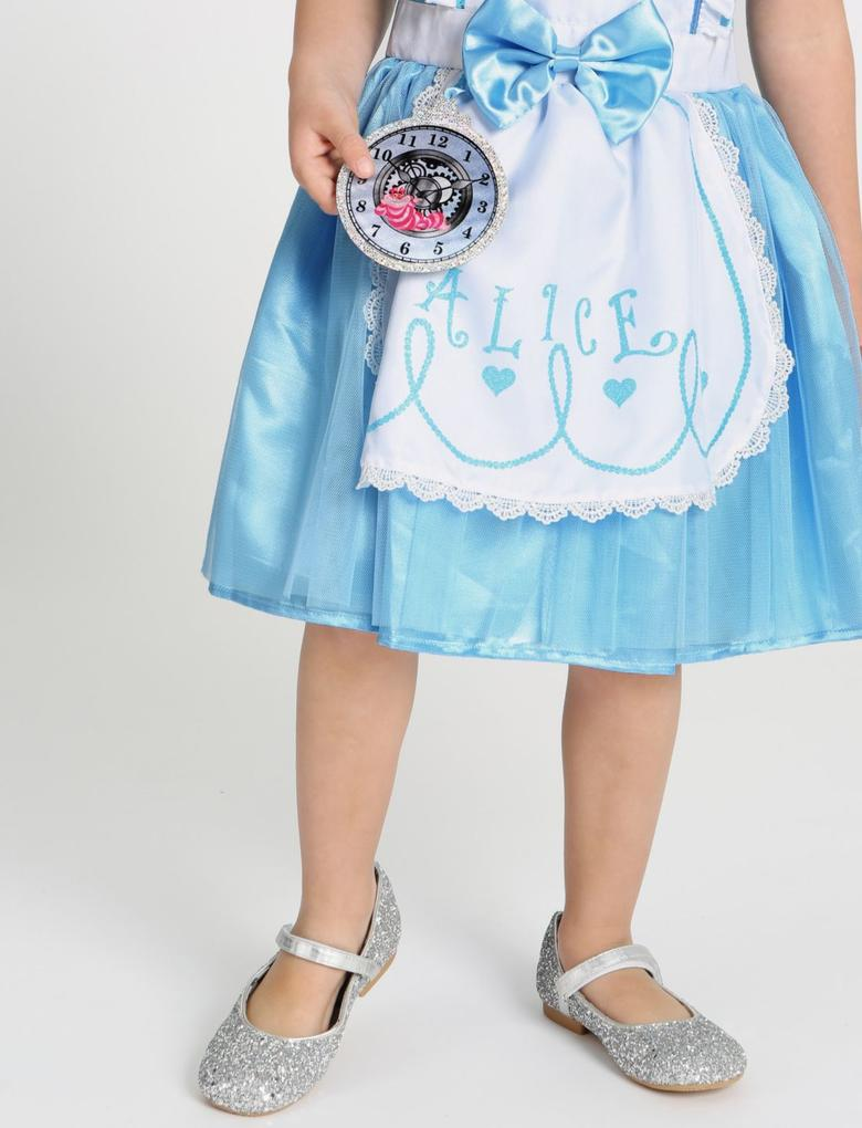 Mavi Alice Harikalar Diyarında Kostümü