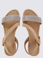 Asimetrik Zincirli Açık Ayakkabı