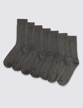 Gri 7'li Çorap Seti
