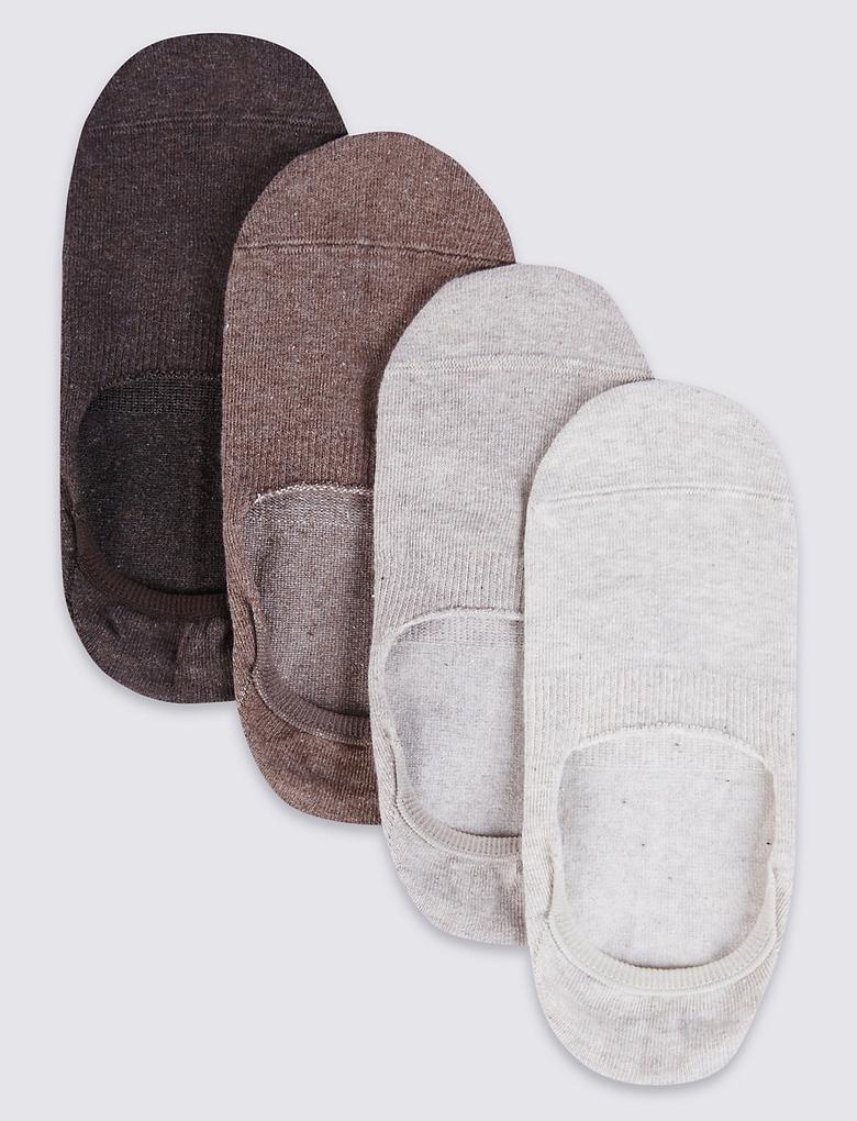 4'lü Babet Çorabı (Cool & Freshfeet™ Teknolojisi ile)