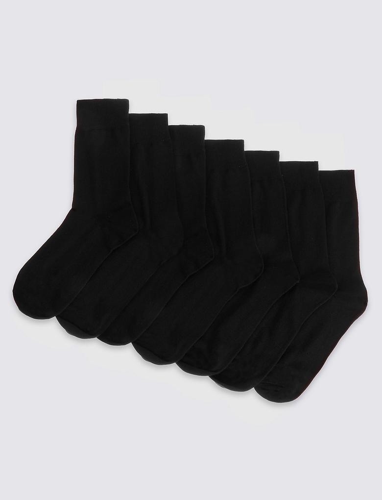 Siyah 7'li Çorap Seti