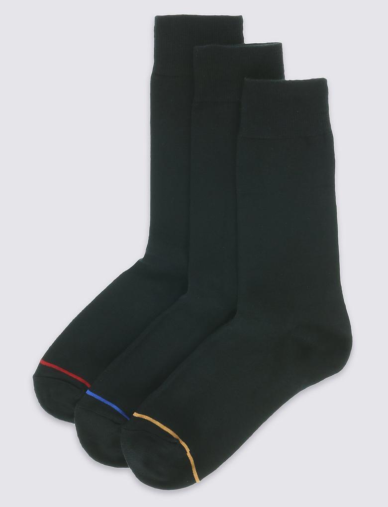 Siyah 3'lü Heatgen™ Termal Çorap Seti
