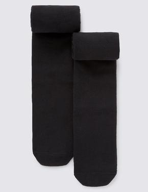 2'li Yünlü Termal Külotlu Çorap (5 - 14 Yaş)