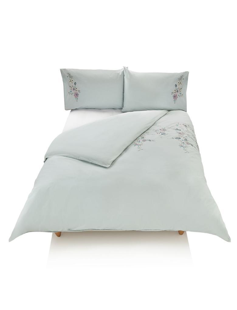 Cora İşlemeli Yatak Takımı