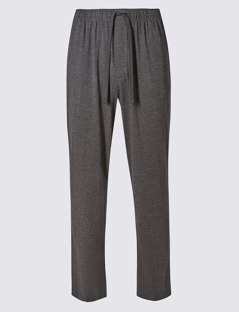 Supima® Pamuklu Slim Pijama Altı