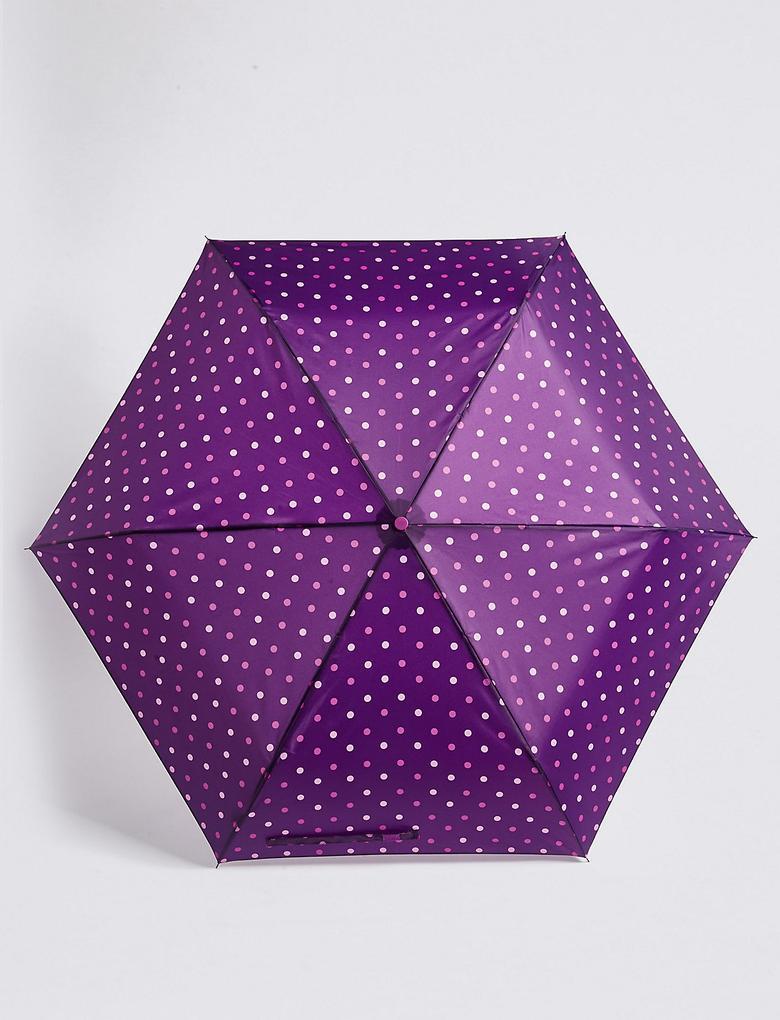 Puantiyeli Kompakt Şemsiye (Stormwear™ Teknolojisi ile)