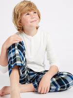 2'li Saf Pamuklu Pijama Takımı (3 - 16 Yaş)
