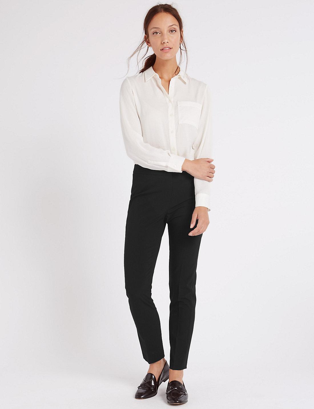 Slim Leg Pantolon