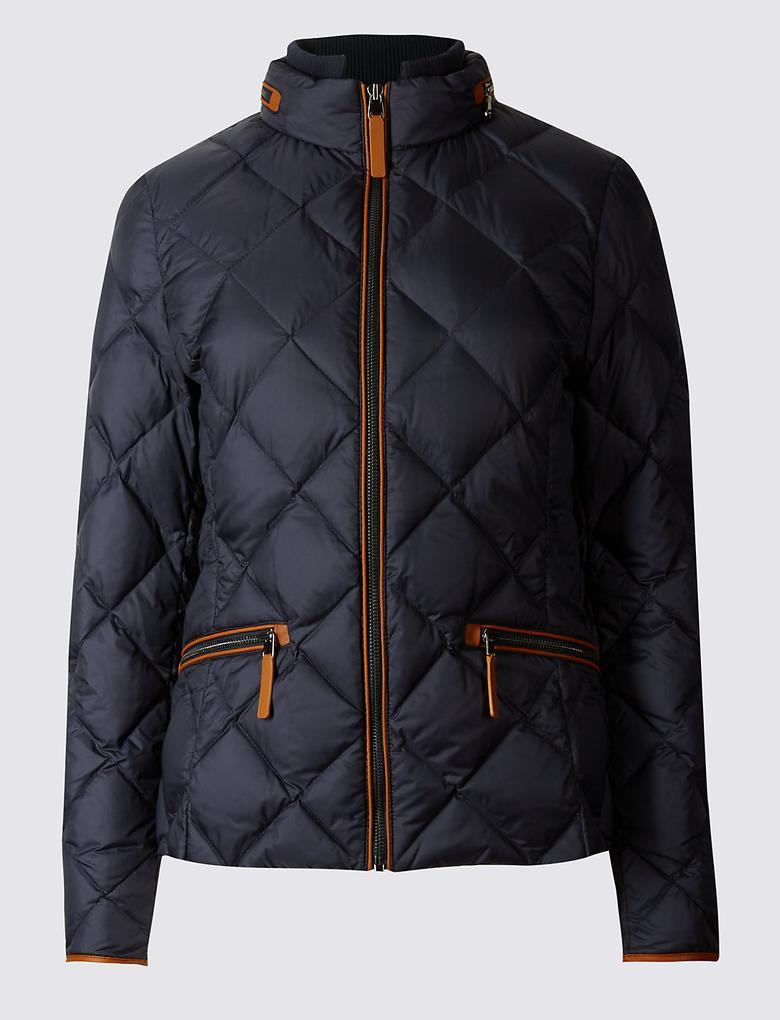 Down & Feather Kuş Tüyü Mont (Stormwear™ Teknolojisi ile)