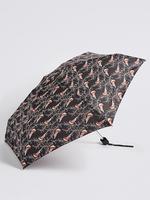 Siyah Desenli Kompakt Şemsiye (Stormwear™ teknolojisi ile)