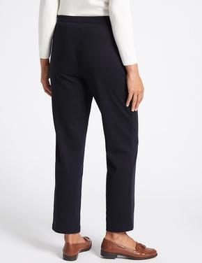Kadın Lacivert Straight Pantolon