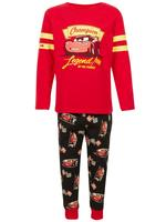 Disney Cars Pamuklu Streç Pijama Takımı (1 - 8 Yaş)
