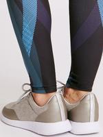 Yeşil Desenli Tayt (Cool Comfort™ Teknolojisi ile)
