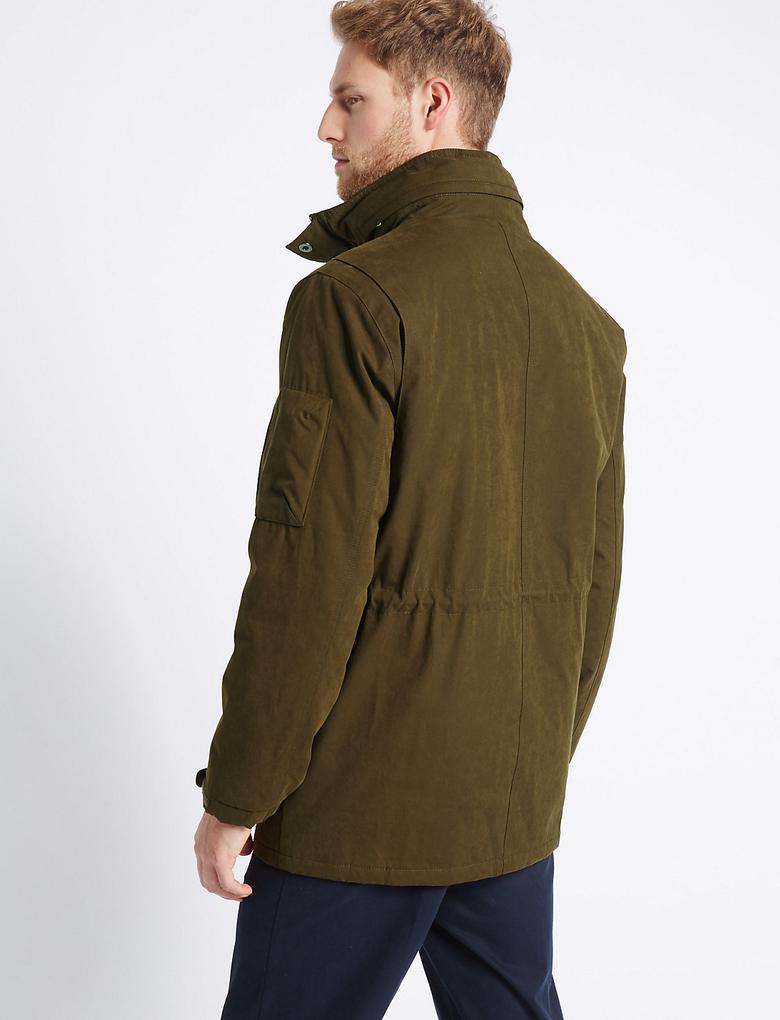 Pamuklu Ceket (Stormwear™ Teknolojisi ile)