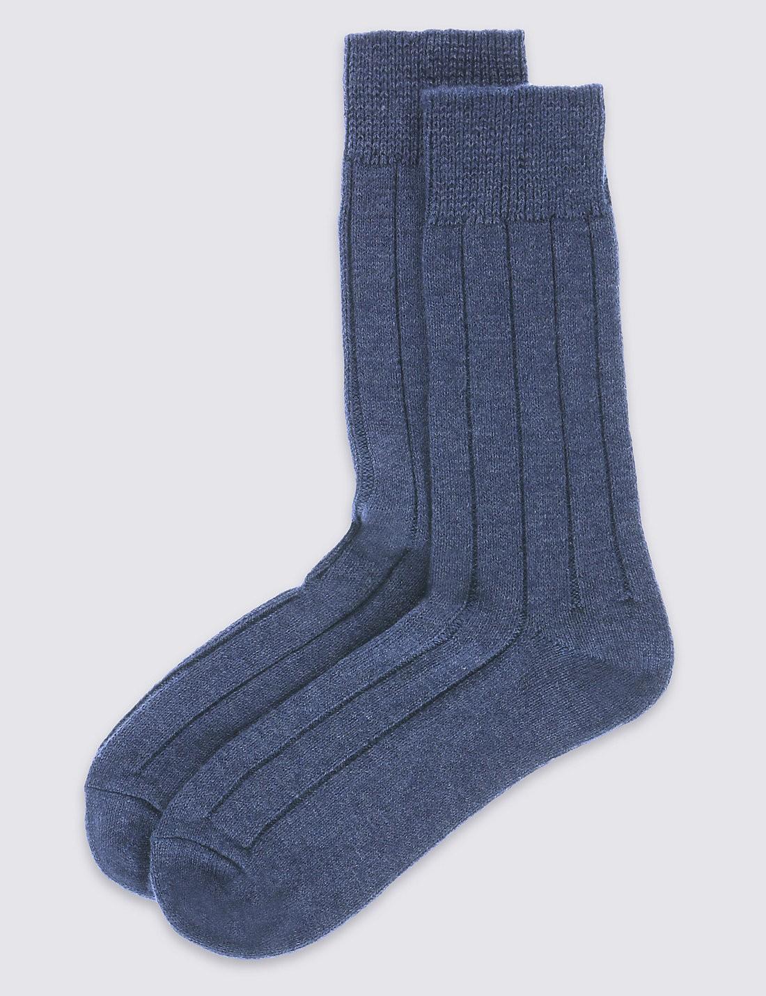2'li Yünlü Termal Çorap Seti
