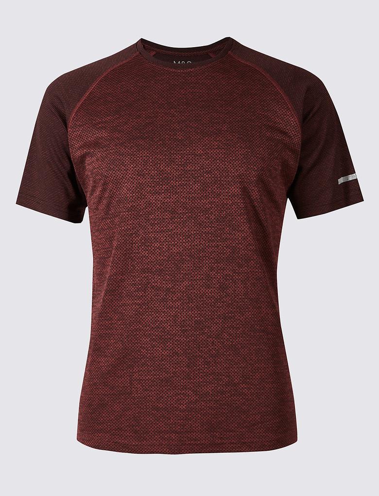 Slim Sıfır Yaka T-Shirt