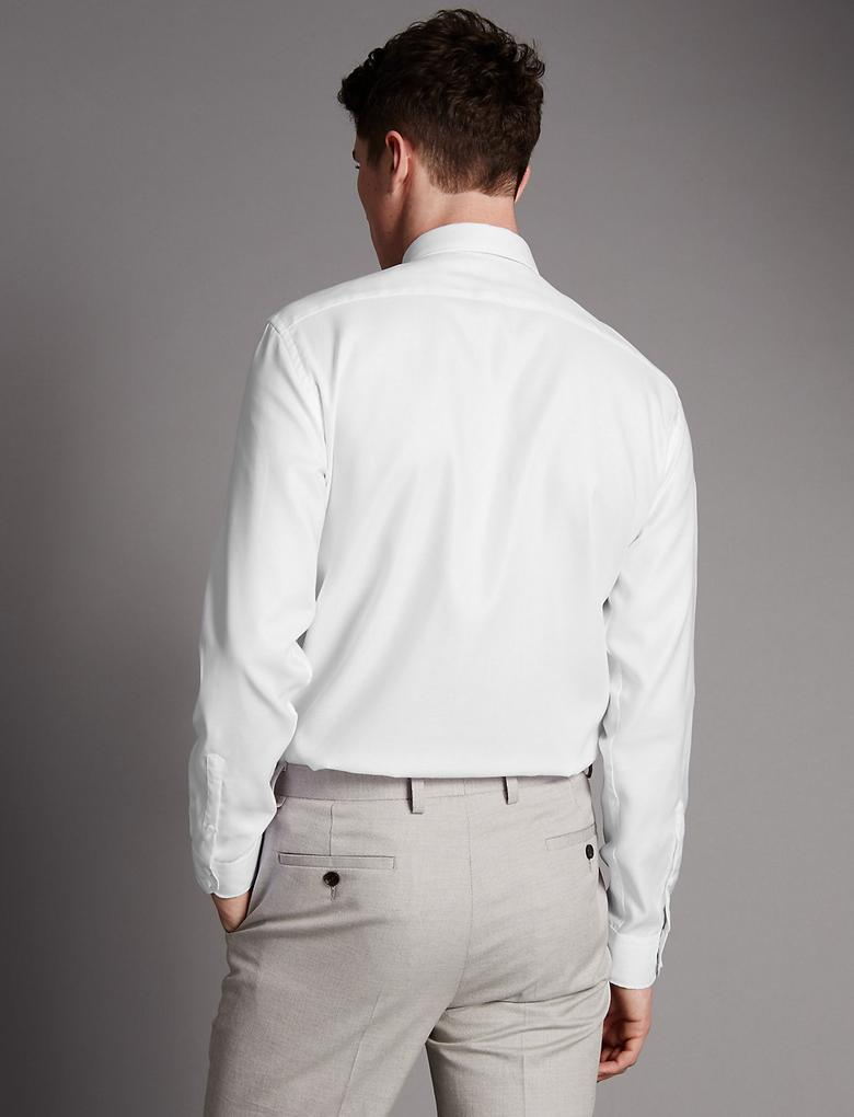 Pure Cotton Tailored Fit Gömlek