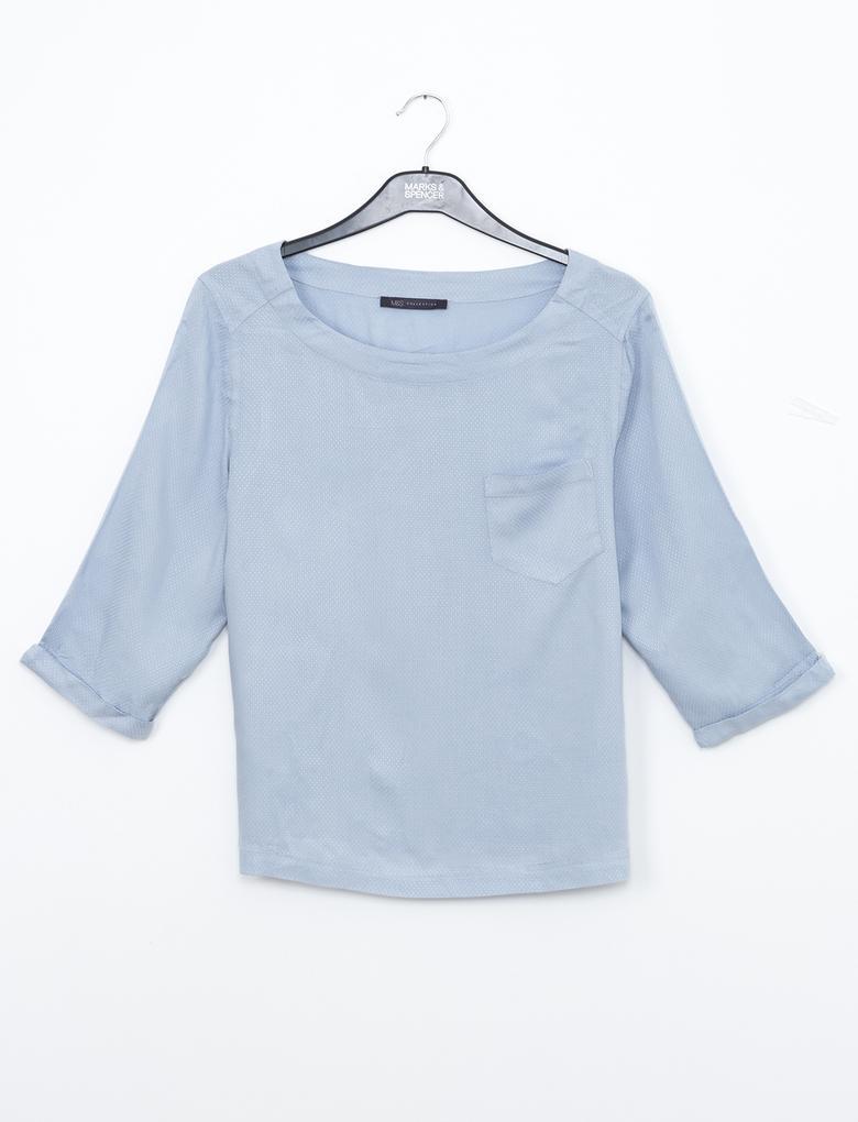 Katlanabilir Kollu Gömlek