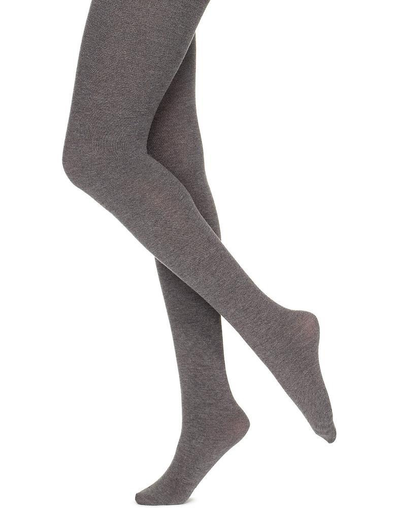 Gri 10 Denye Yumuşak Opak Külotlu Çorap