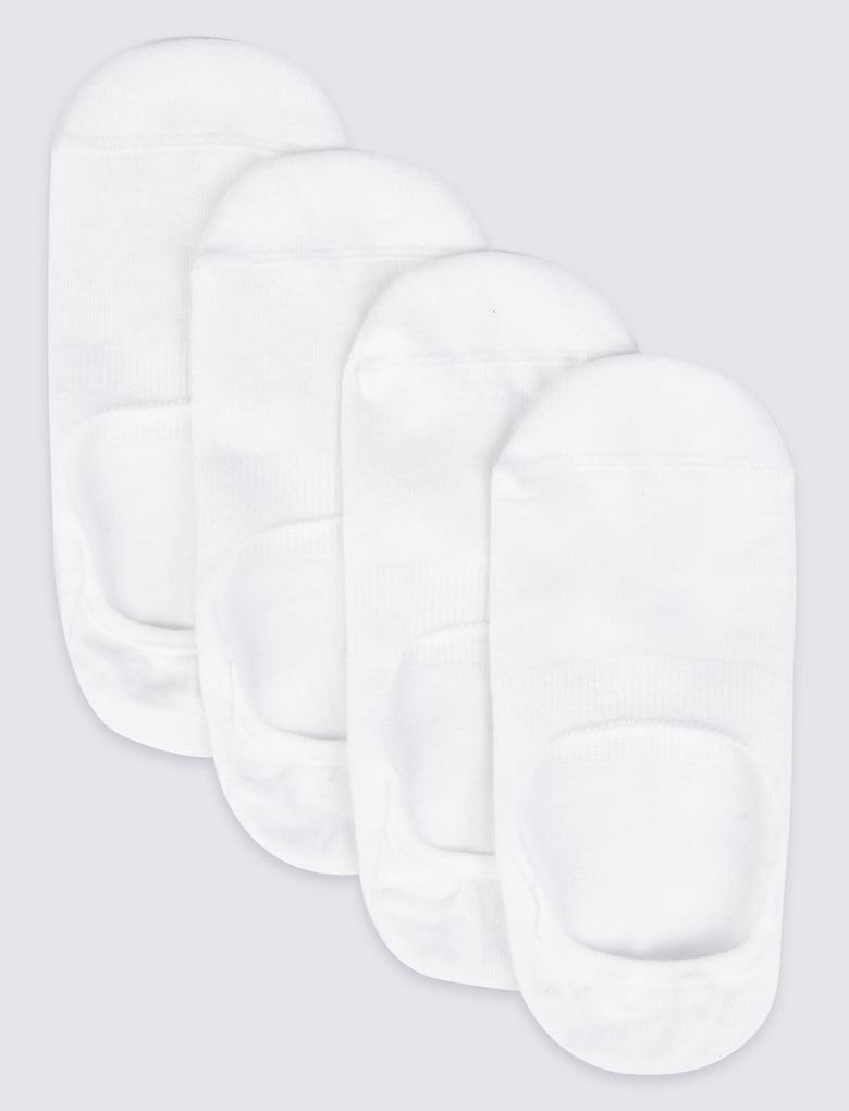 4'lü Cool & Freshfeet™ Babet Çorabı