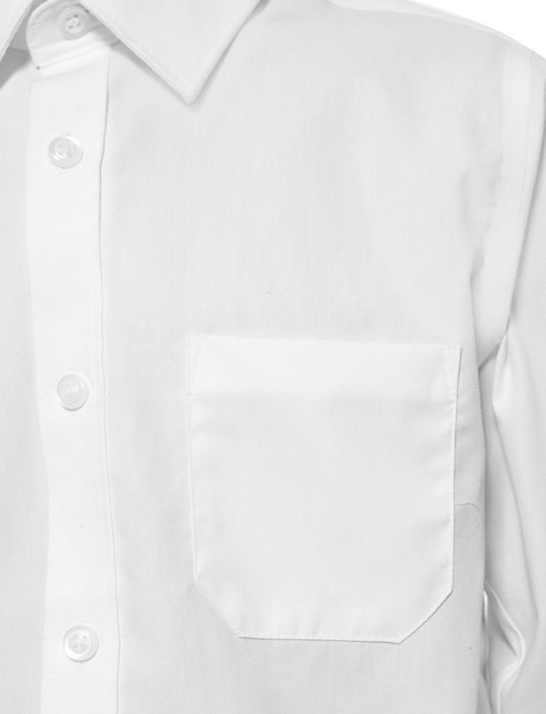 2'li Saf Pamuklu Gömlek