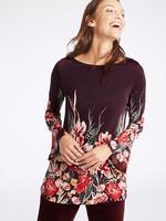 Çiçek Desenli Uzun Kollu Tunik