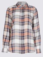 Desenli Uzun Kollu Gömlek