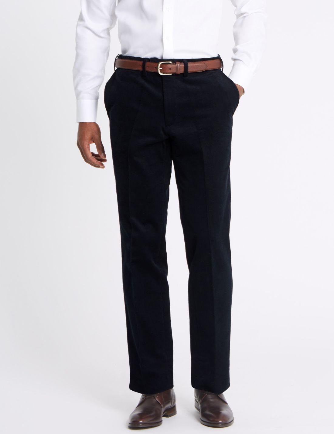 Tailored Fit Pamuklu Pantolon