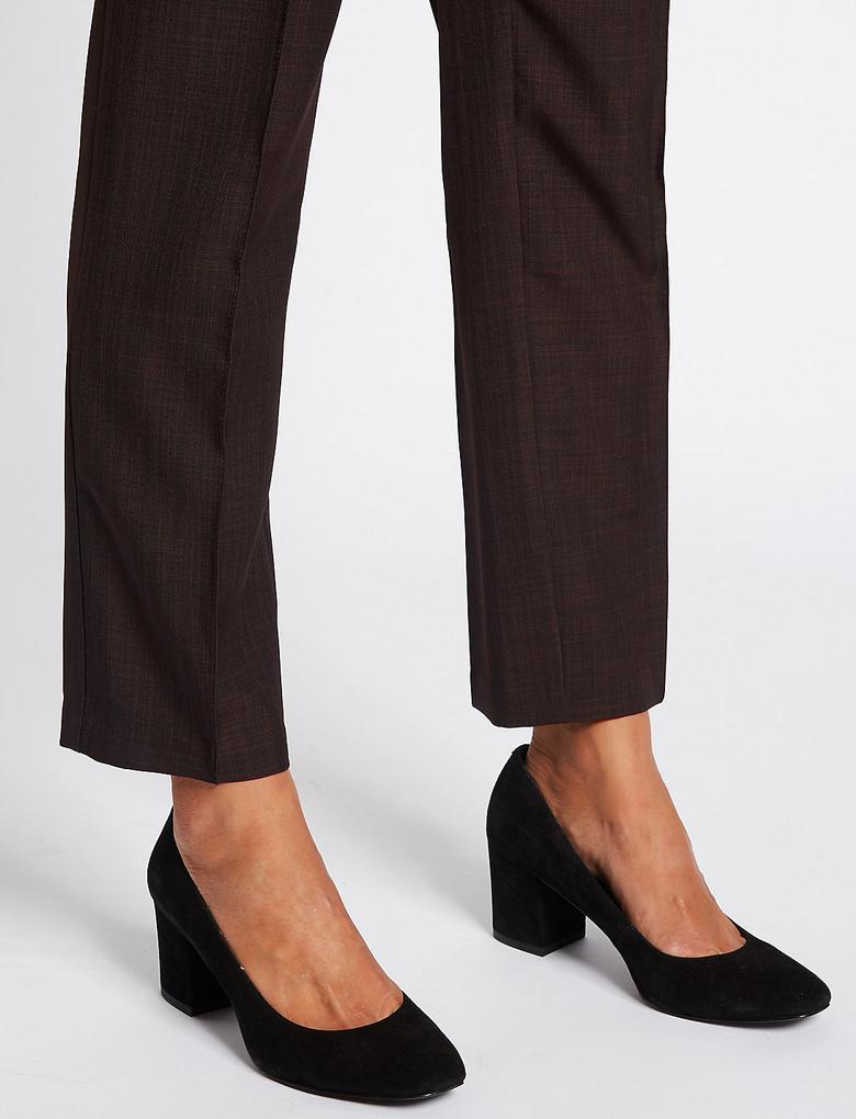 Straight Leg Pantolon