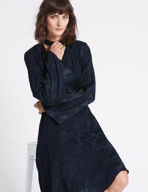 Jakarlı Elbise