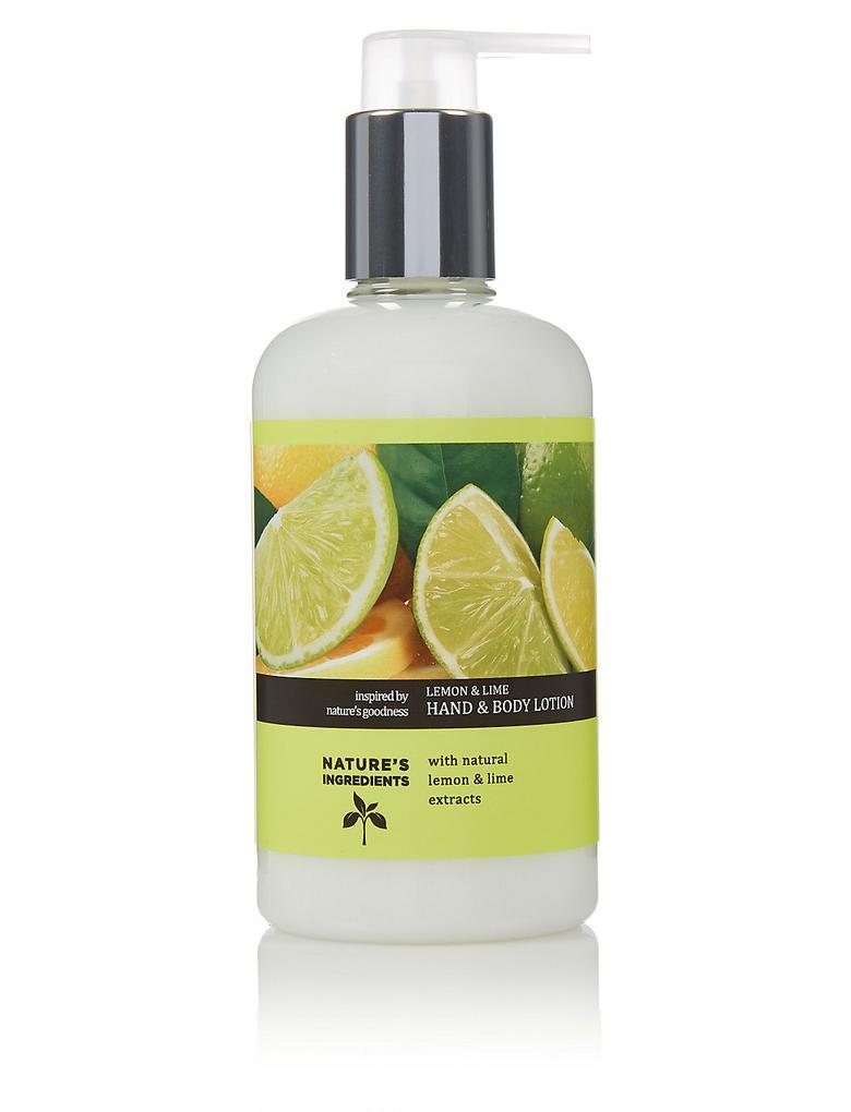 Renksiz Limon ve Misket Limonu El ve Vücut Kremi 300ml