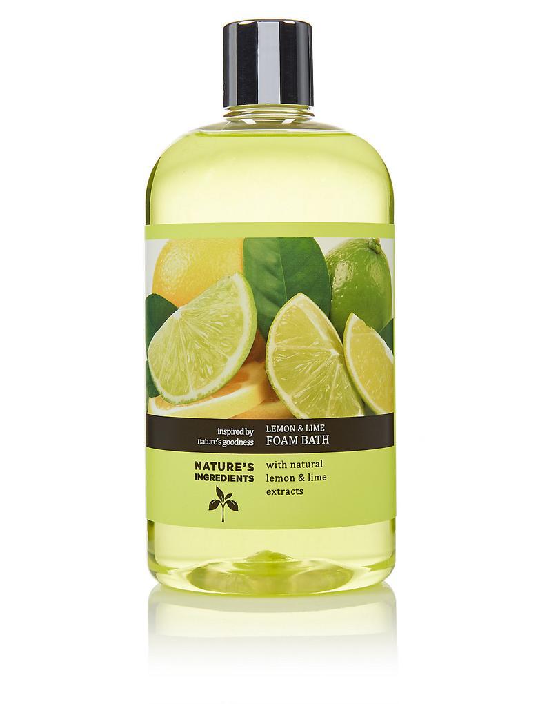 Renksiz Limon ve Misket Limonu Duş Köpüğü 500ml