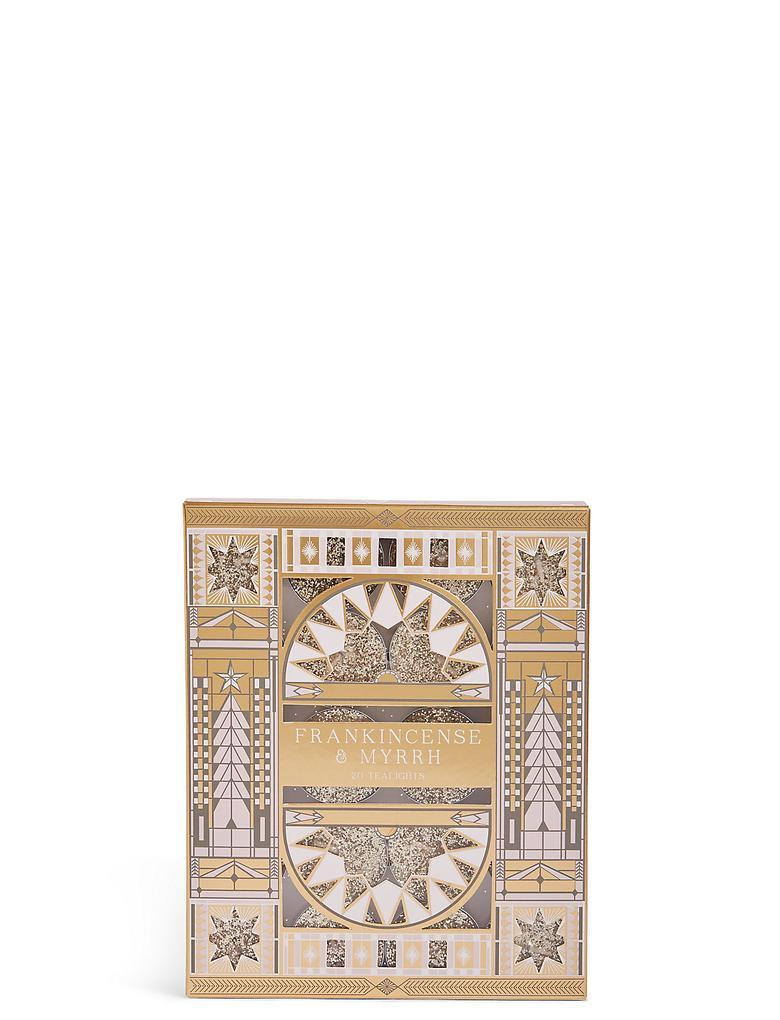 Frankincense & Myrrh Kokulu 20 Tea Light Küçük Mum