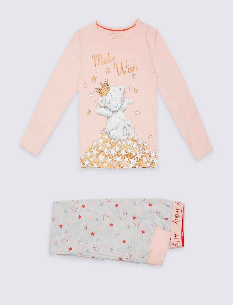 Pamuklu Streç Pijama Takımı (2 - 16 Yaş)