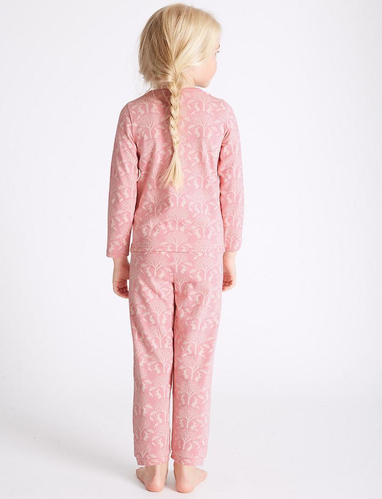 3'lü Pamuklu Pijama Takımı (9 Ay - 8 Yaş)