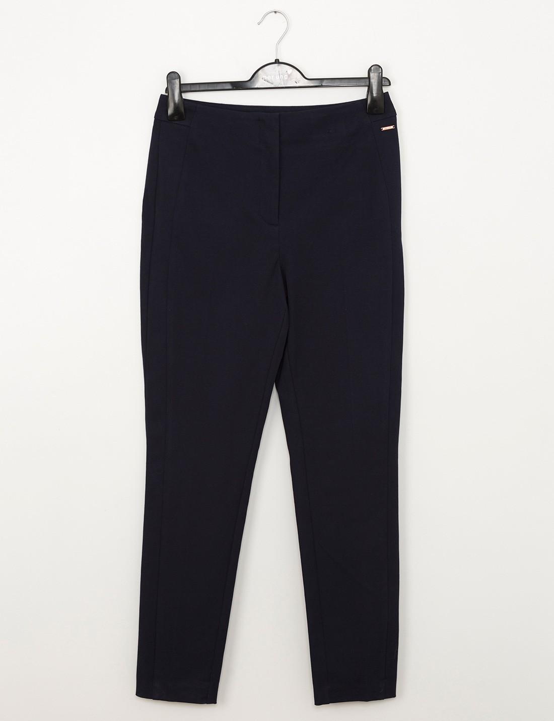 Desenli Slim Pantolon